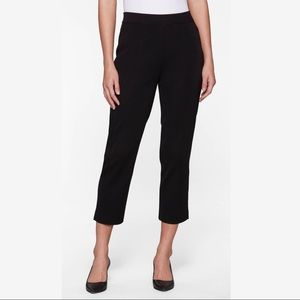 Exclusively Misook Black Ankle Pant